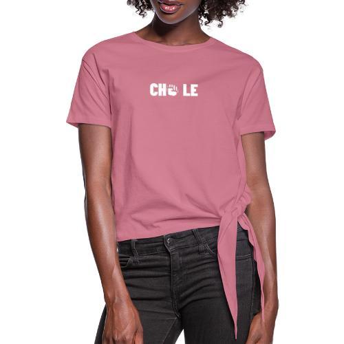 CHO LE - Dame knot-shirt