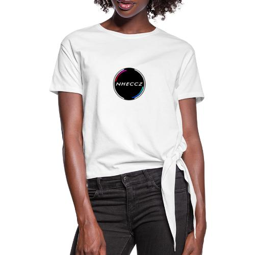 NHECCZ Logo Collection - Women's Knotted T-Shirt