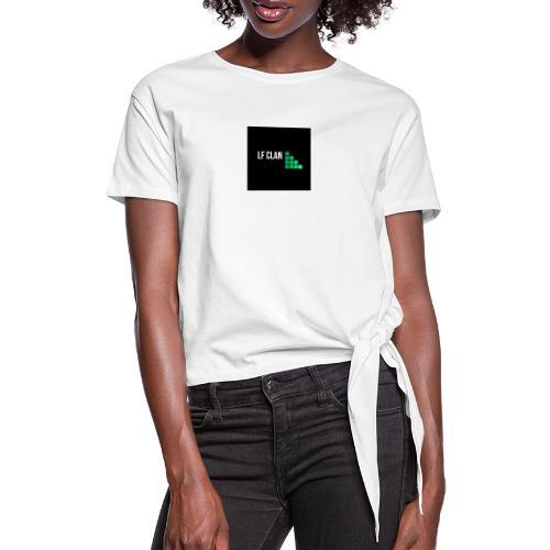 LF CLAN - T-shirt med knut dam