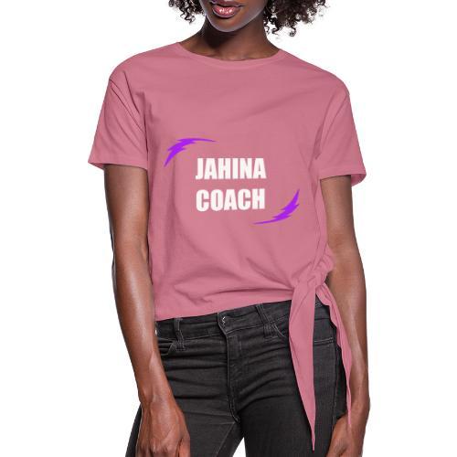 JHNA 002 - T-shirt à nœud Femme