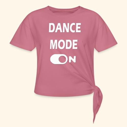 Dancemode - Vrouwen Geknoopt shirt