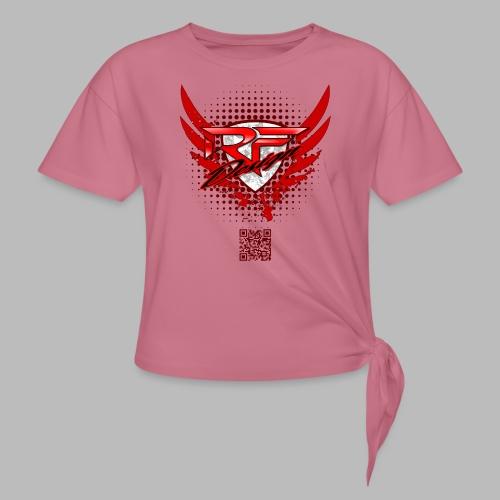 RFD_2PRINT (bitte max. 40°/verkehrt waschen) - Frauen Knotenshirt