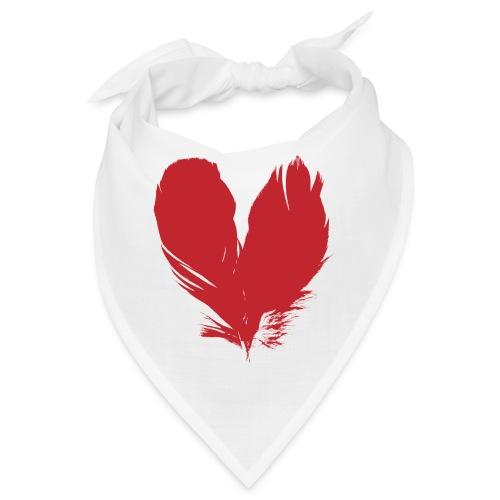 plumes de cœur - Bandana