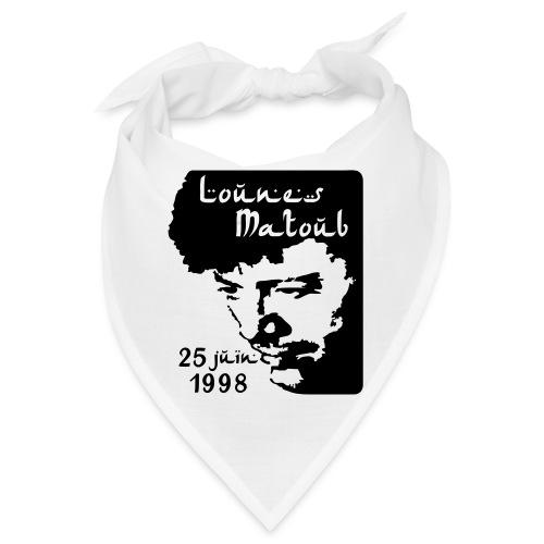 Motif hommage à Lounes Matoub - Bandana