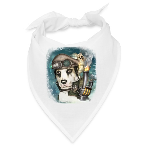 Steampunk Dog #2b - Bandana