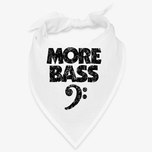 More Bass (Vintage/Schwarz) Bassisten - Bandana