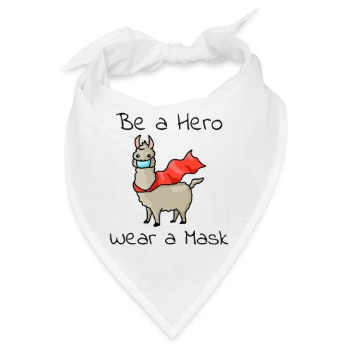 Sei ein Held, trag eine Maske - fight COVID-19 - Bandana