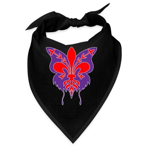 Giglio di Firenze con sagoma di farfalla - Bandana