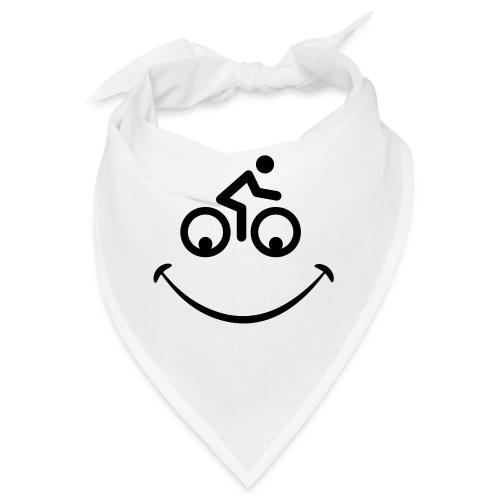Blije fiets gezicht. Race tour - Bandana