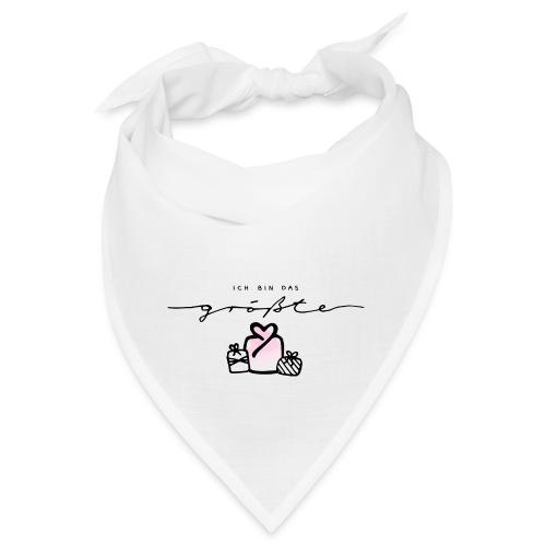 Das größte Geschenk / pink – Baby Kollektion - Bandana