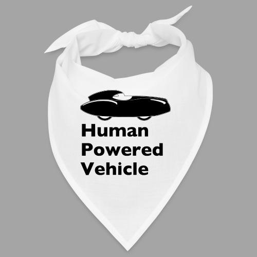 Quattrovelo Human Powered Vehicle black - Bandana