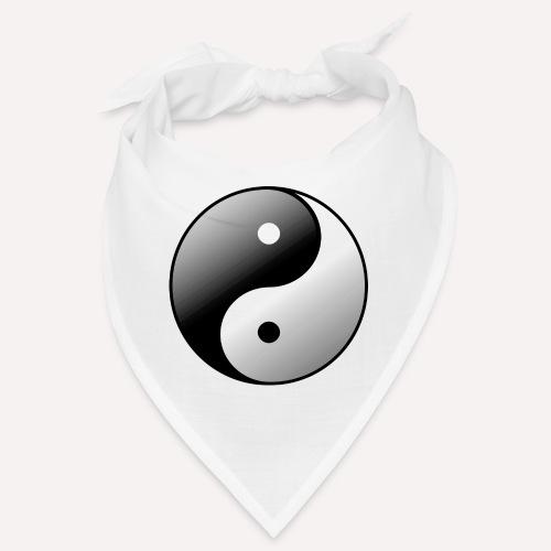Yin Yang Symbol balance Print Sign - Bandana