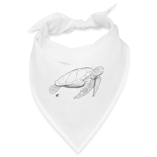 Sea turtle sketch - Bandana