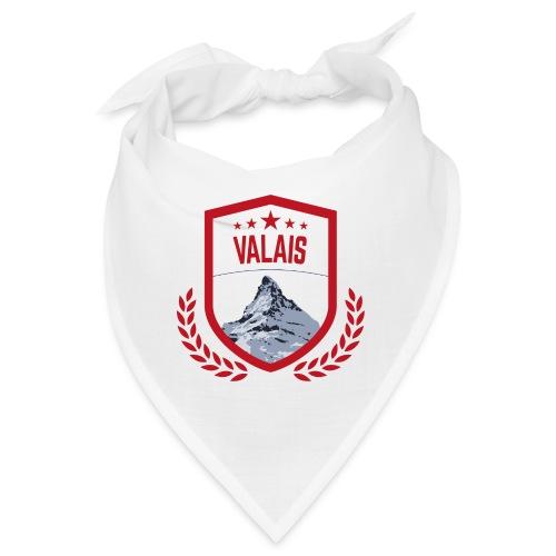 Walliser Logo mit dem Matterhorn - Bandana