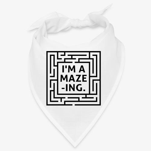 A maze -ING. Die Ingenieurs-Persönlichkeit. - Bandana