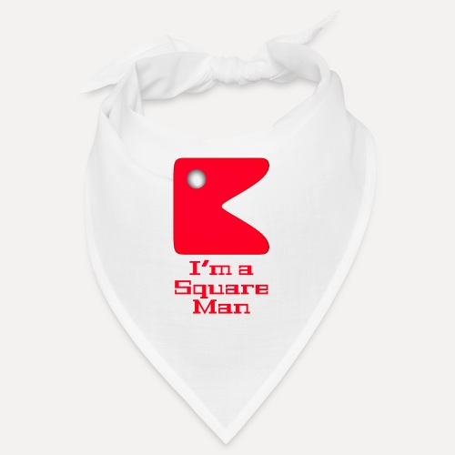 Square man red - Bandana