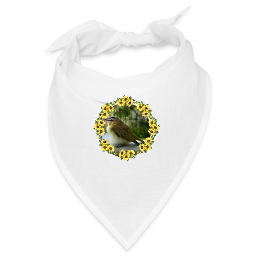 Vögelchen im Blumenkranz - Bandana