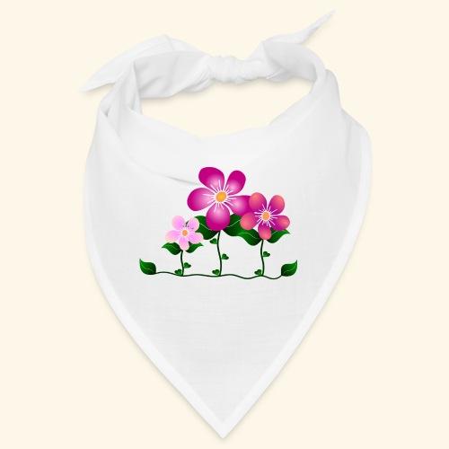 Blumen, pink, Blüten, floral, Blumenwiese, blumig - Bandana