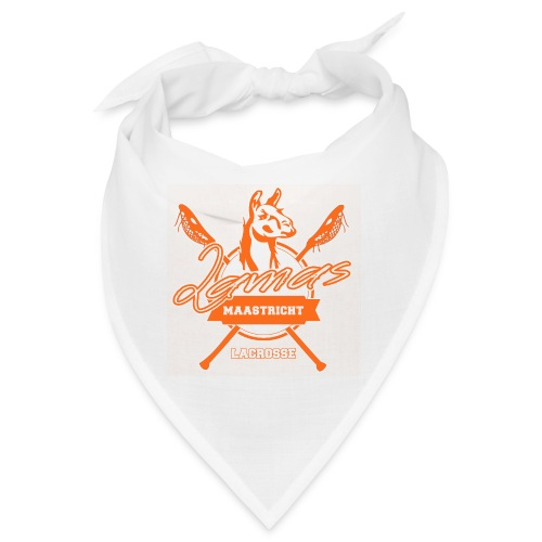 Llamas - Maastricht Lacrosse - Oranje - Bandana