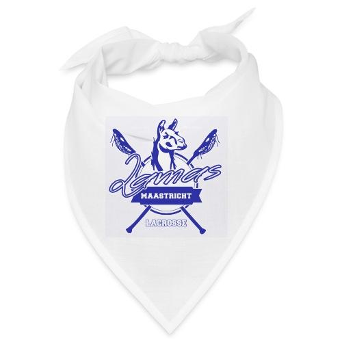 Llamas - Maastricht Lacrosse - Blauw - Bandana