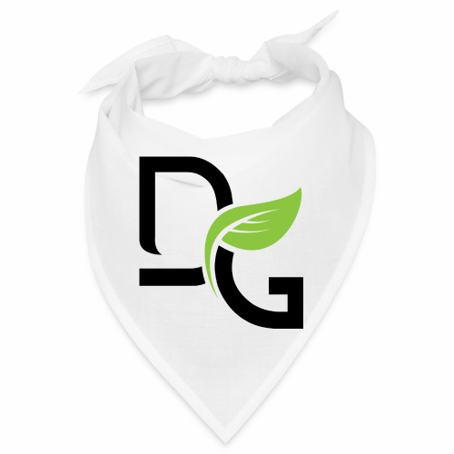 DrGreen Logo Symbol schwarz grün - Bandana
