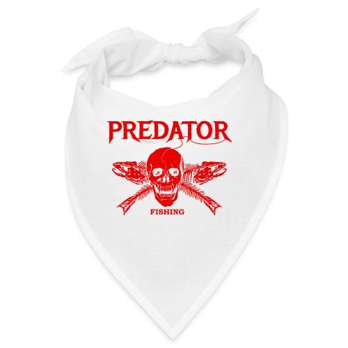 Predator fishing red - Bandana