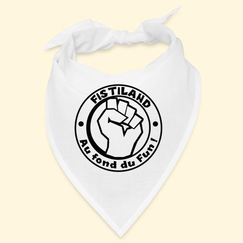 logo Fistiland Noir - Bandana