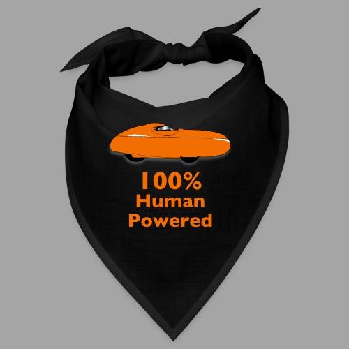 100% human powered - Bandana