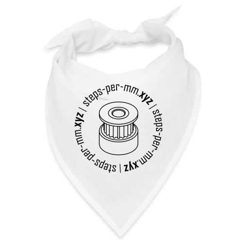 steps-per-mm Round Logo - Bandana