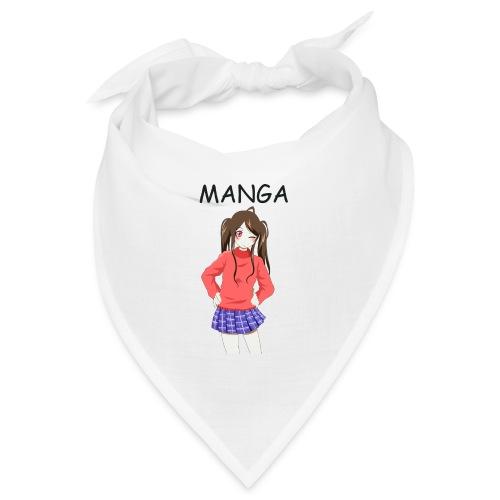 Anime girl 02 Text Manga - Bandana