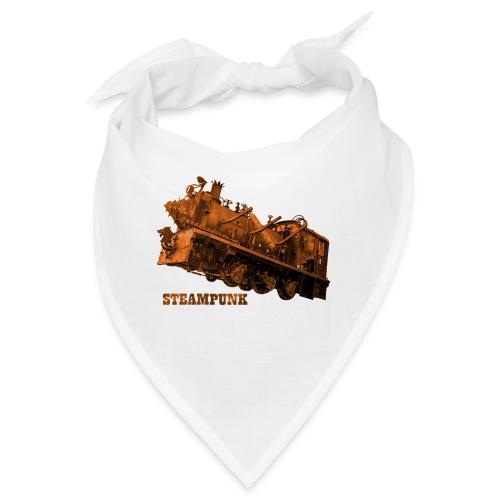 Steampunk Lokomotive Neuseeland - Bandana