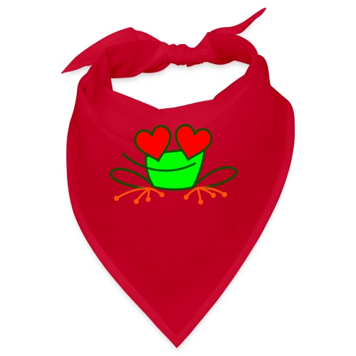 Frog in Love - Bandana