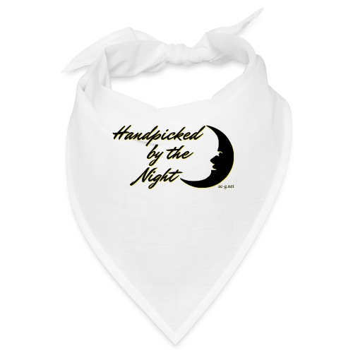 Handpicked design By The Night - Logo Black - Bandana