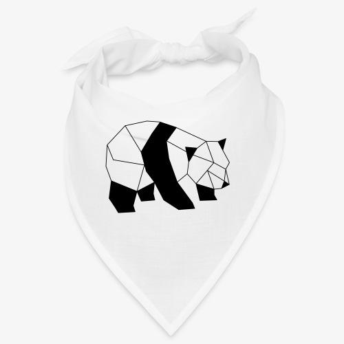 Panda geometrisch - Bandana