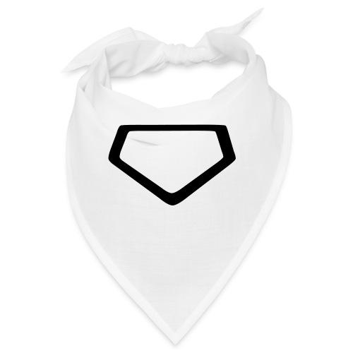 Baseball Homeplate Outline - Bandana