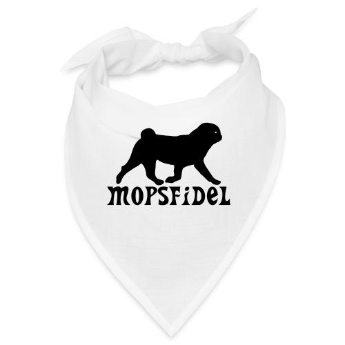 Mopsfidel - Bandana