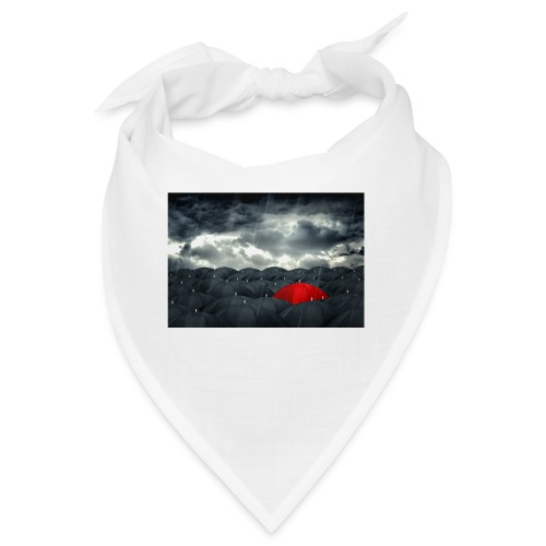 Der rote Regenschirm - Bandana