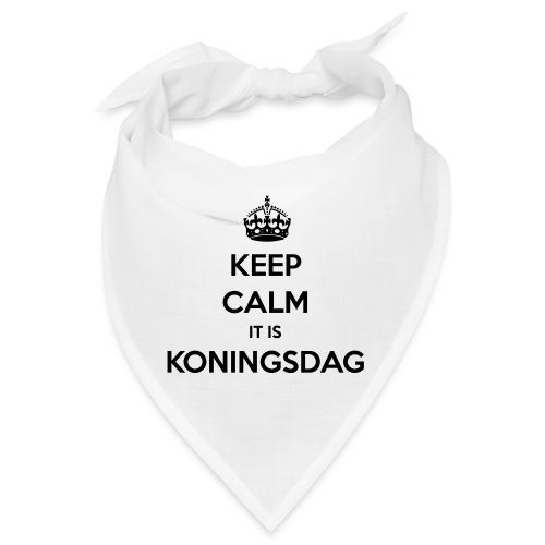 KEEP CALM IT IS KONINGSDAG - Bandana