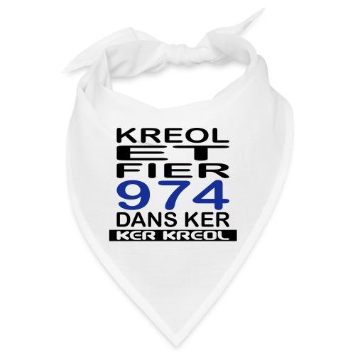 Kreol et Fier - 974 ker kreol - Bandana