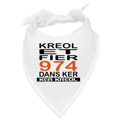 974 ker kreol - Kreole et Fier - Bandana