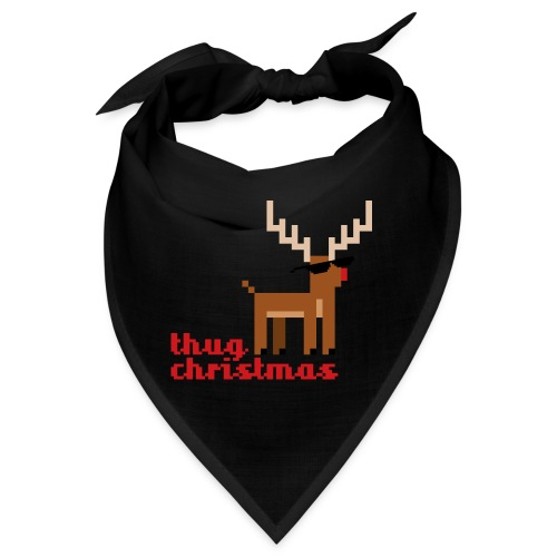 Rudolph the Red Nosed Reindeer Pixel - Bandana
