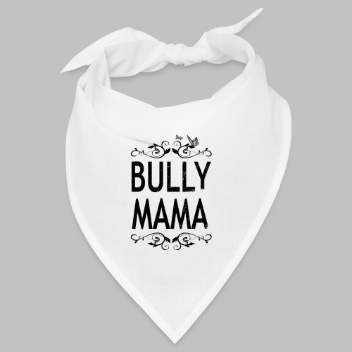 Stolze Bully Mama - Motiv mit Schmetterling - Bandana