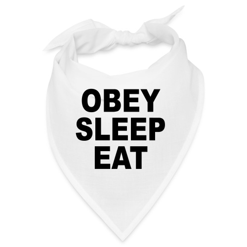 obey sleep - Bandana