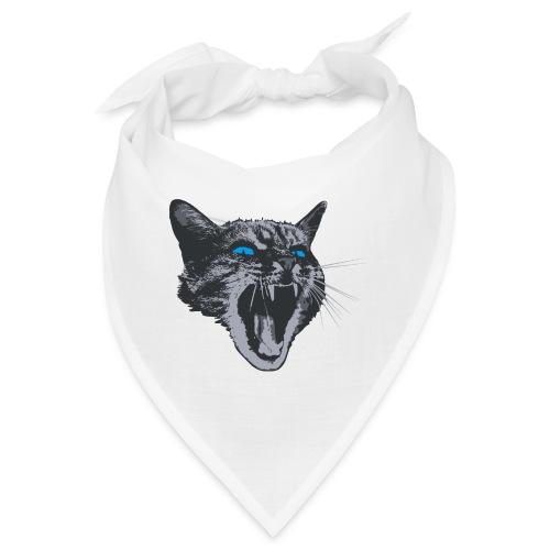 Really angry kitty cat - Bandana