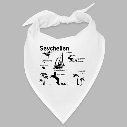 Seychellen Insel Crewshirt Mahe etc. - Bandana