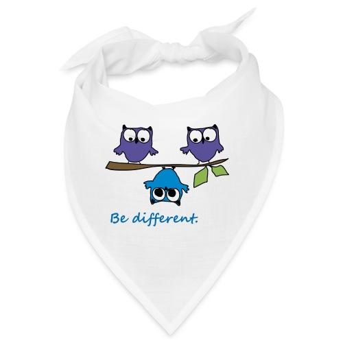 Vogel auf Ast - Be different - Bandana