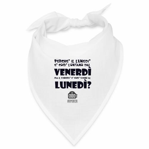 SPIKE-lunedi-venerdi-nero - Bandana