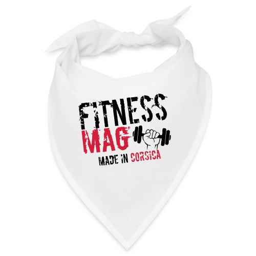Fitness Mag made in corsica 100% Polyester - Bandana