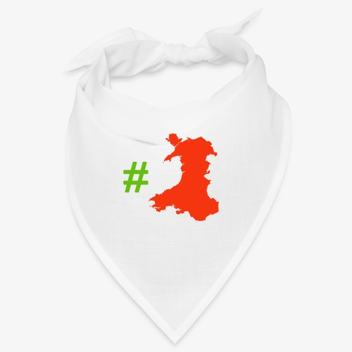 Hashtag Wales - Bandana