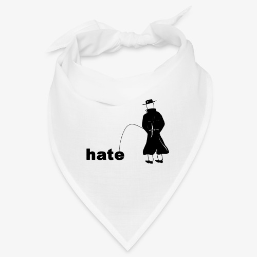Pissing Man against Hate - Bandana